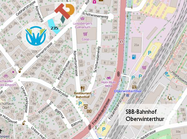 Stadtplan Römerweg